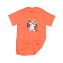 Load image into Gallery viewer, Fat Dave Fiesta Unicorn T-Shirt Small Orange