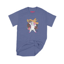 Load image into Gallery viewer, Fat Dave Fiesta Unicorn T-Shirt Small Purple
