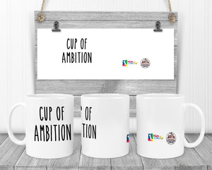 Kids Can Fly - Cup of Ambition Coffee Mug