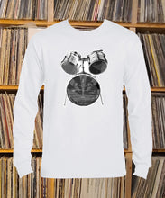 Load image into Gallery viewer, Greenwaters drum kit Long Sleeve T-shirt