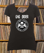 Load image into Gallery viewer, Gag Order Filthy Dirty Rotten Putrid Ladies V-Neck Shirt