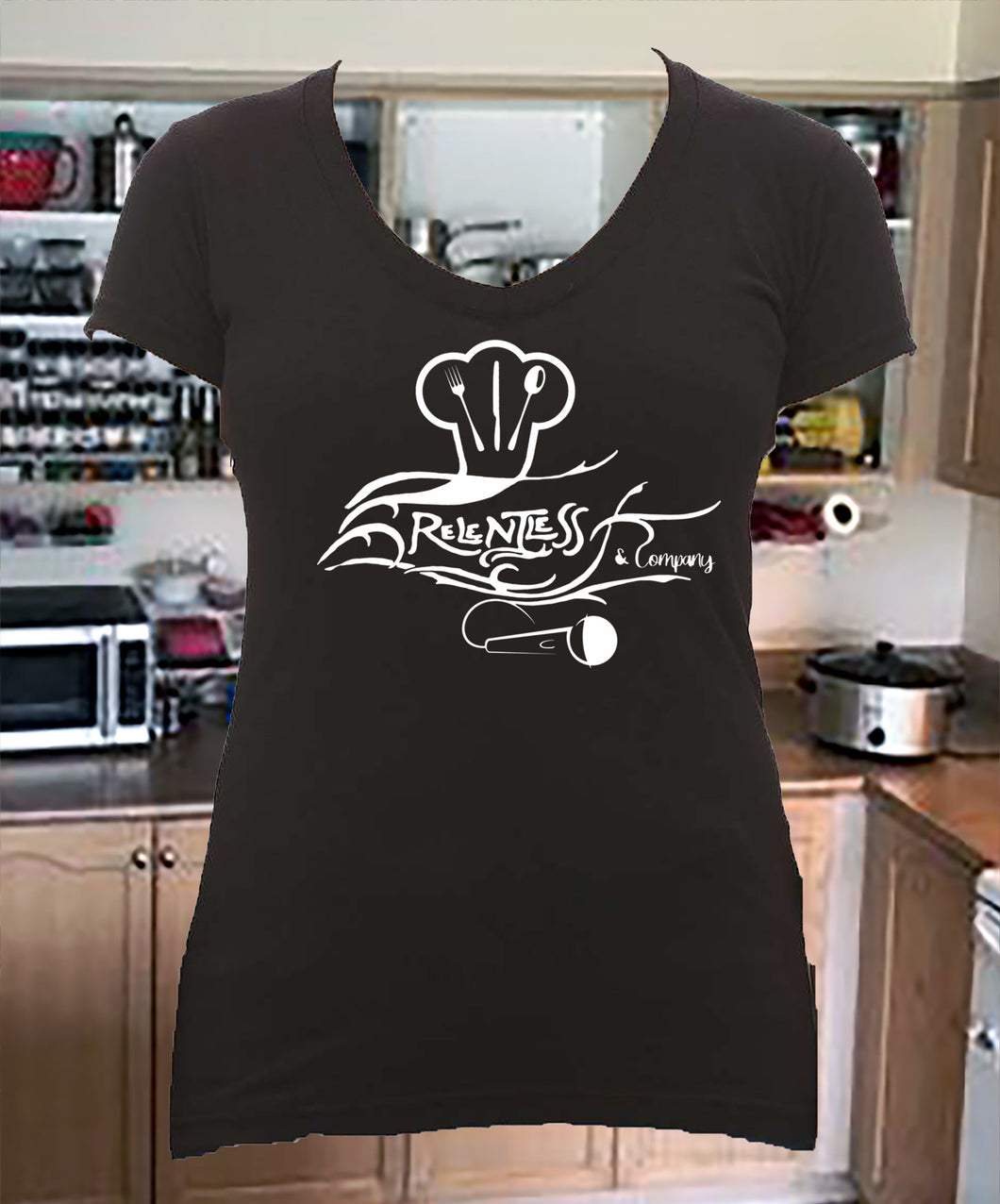 Relentless and Company Ladies V-Neck Shirt