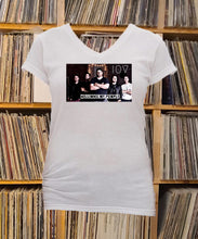 Load image into Gallery viewer, I'm of Vintage band Ladies V-Neck Shirt