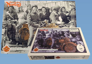 Canadian Military Heritage Museum Norton Motorcycle 300 Piece Puzzle