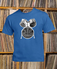 Load image into Gallery viewer, Greenwaters drum kit T-Shirt