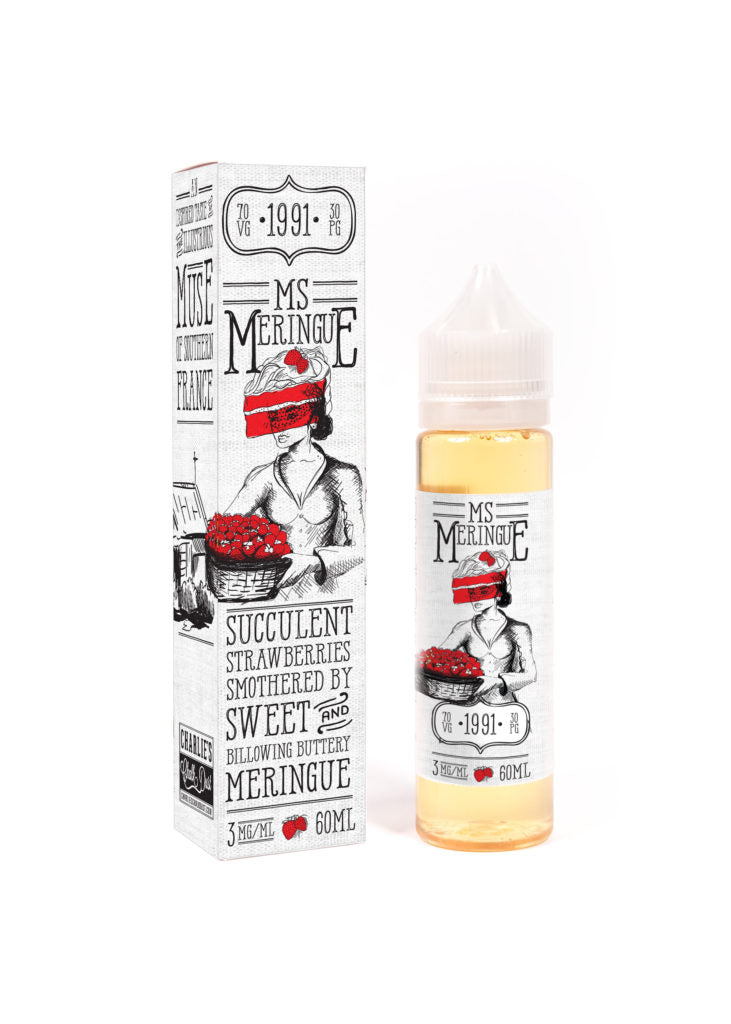Ms Meringue by Charlies Chalk Dust 50ml - The North Vape