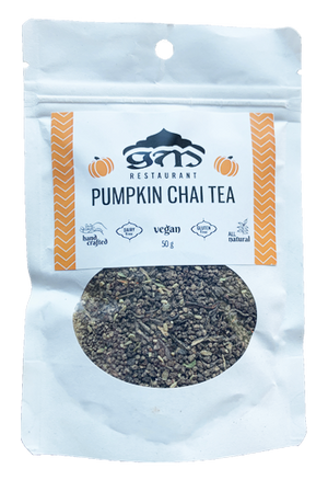 Pumpkin Chai Tea
