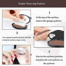 Load image into Gallery viewer, 3 Styles Waterproof  Eyebrow  Stamp