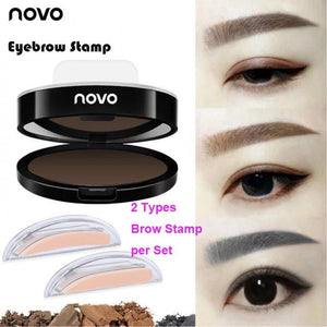 3 Styles Waterproof  Eyebrow  Stamp