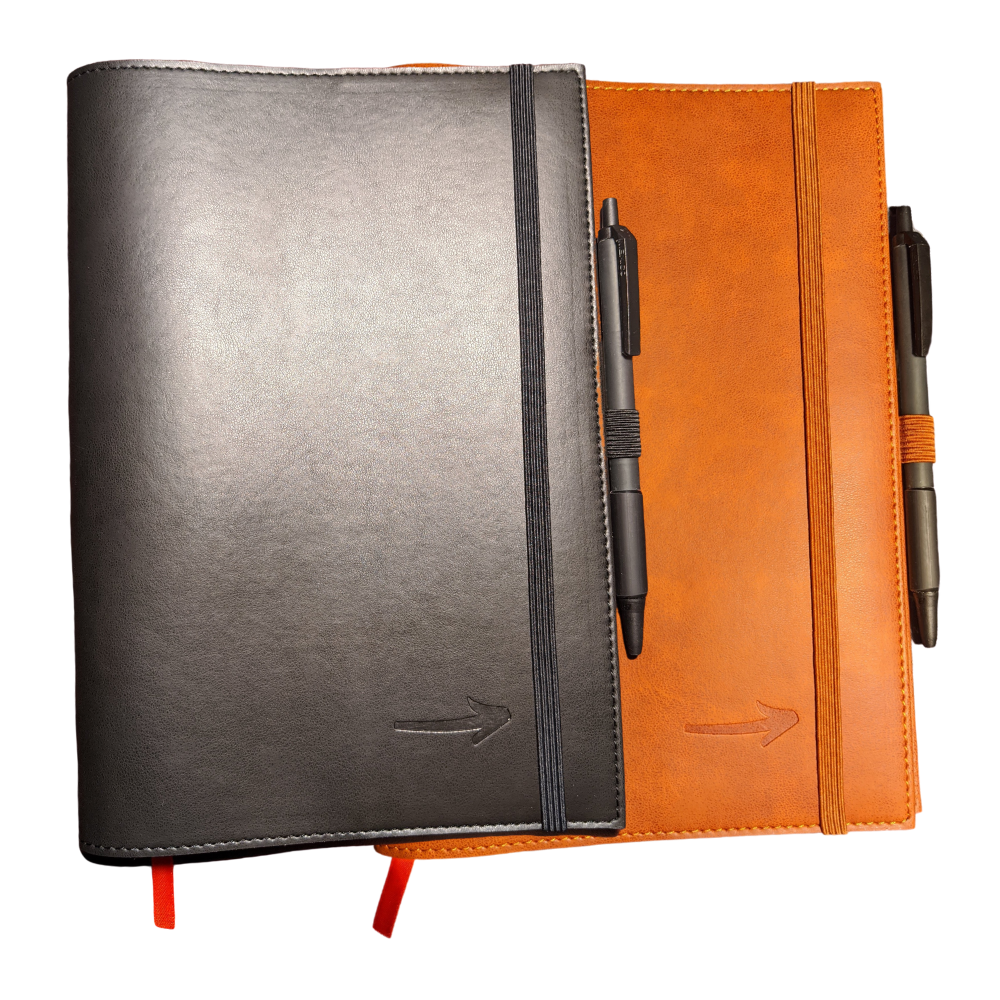 A5 Notebook Cover | Leather Cover | On Track