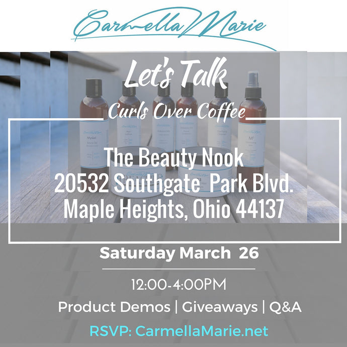 Let's Talk Curls Over Coffee- Cleveland
