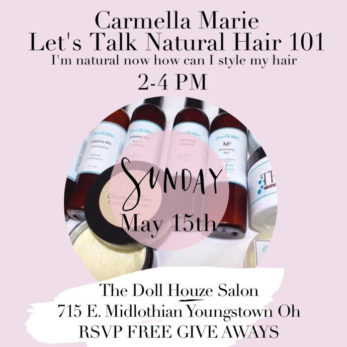 Natural Hair 101 Session