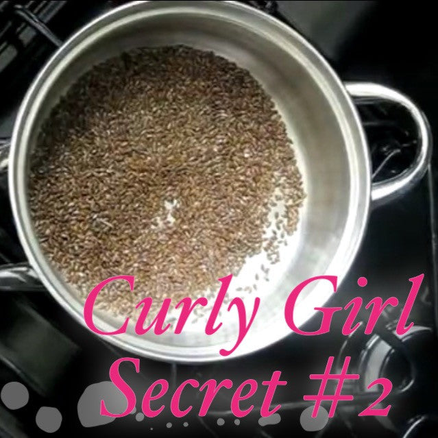 Curly Girl Secret #2 DIY Flax Seed Gel by Naptural85