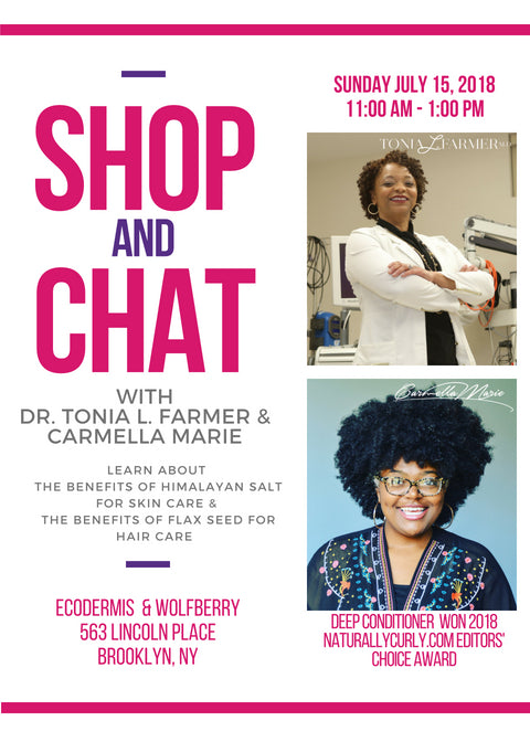 SHOP AND CHAT WITH CARMELLA MARIE IN BROOKLYN