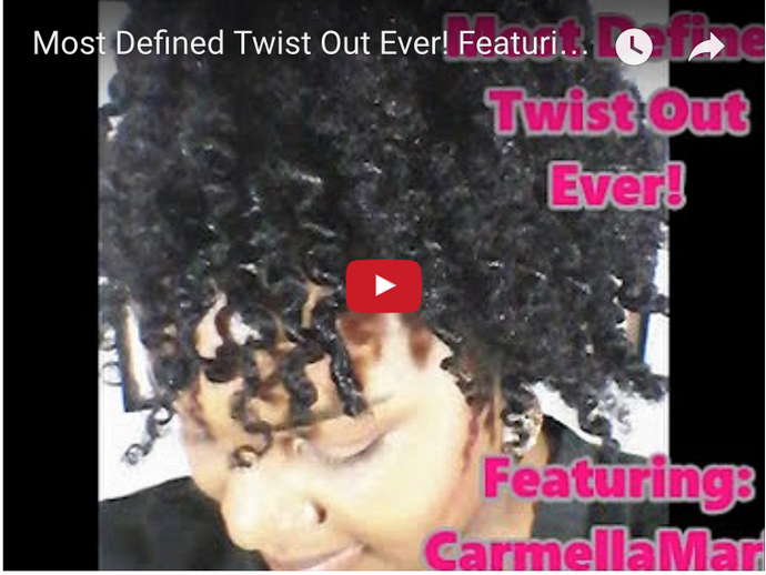 Defined Twist Out Ever