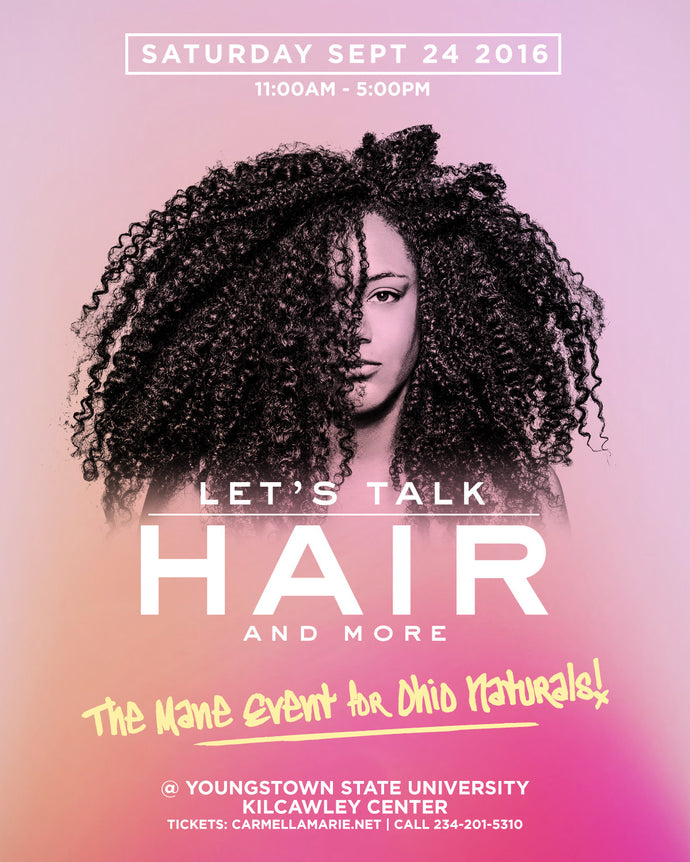 Let's Talk Hair: The Mane Event for Ohio Naturals