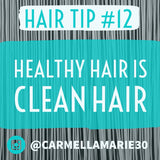 tips for natural hair: clean hair is important for good styling