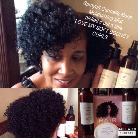 Product for Naturally Curly Hair: Tutorial for Carmella Marie: Flax seed gel