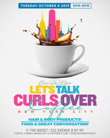 Let's Talk Curls Over Coffee NYC