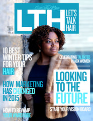 Let's Talk Hair Winter Magazine Carmella Marie