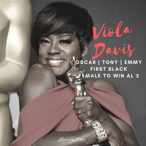 first black female to win oscar tony and emmy: black voices, actor viola davis