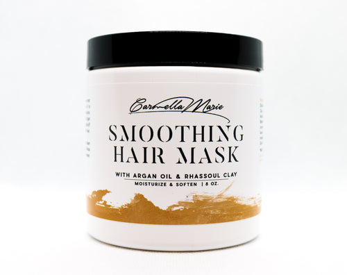 argon smoothing conditioning hair mask for women with curly hair