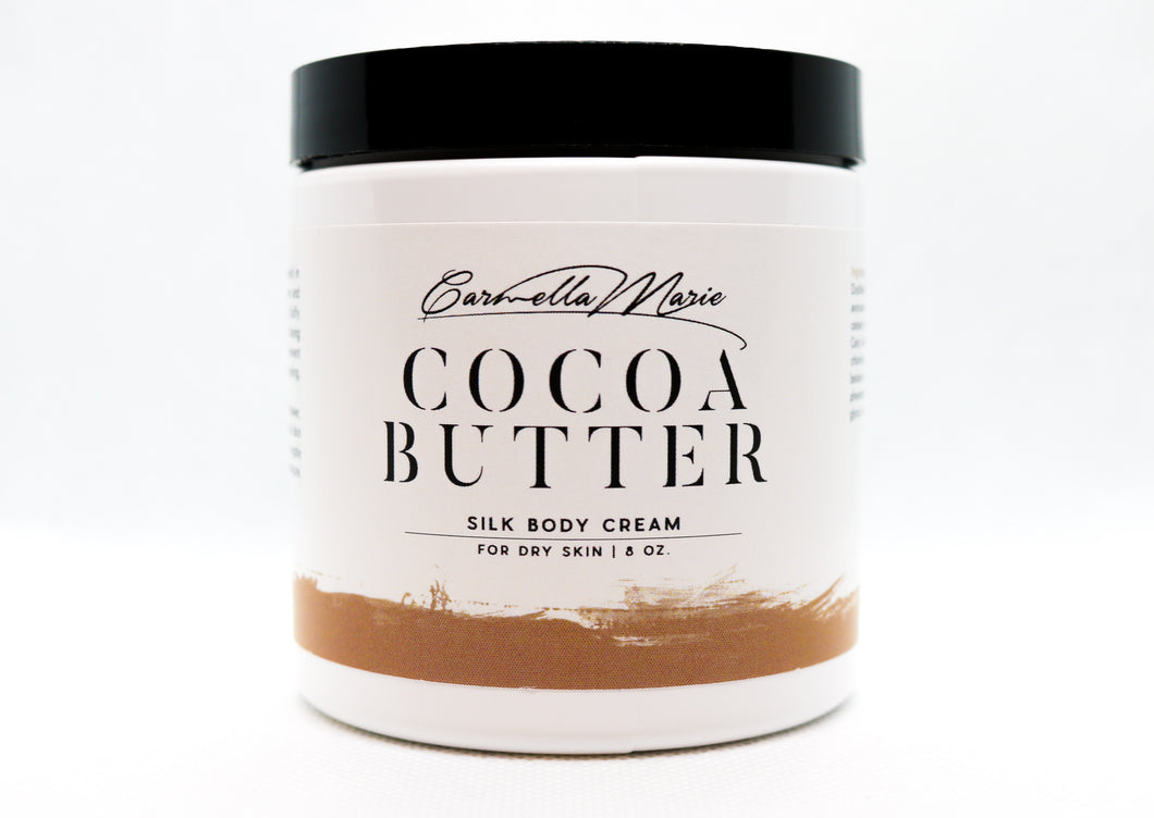 Winter Skin Care silky cocoa butter