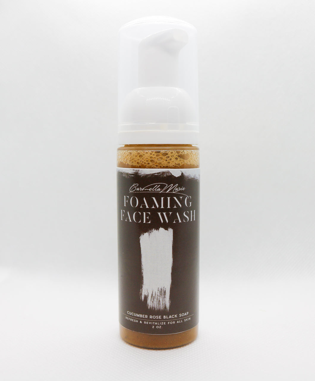 Black Foaming Facial Wash