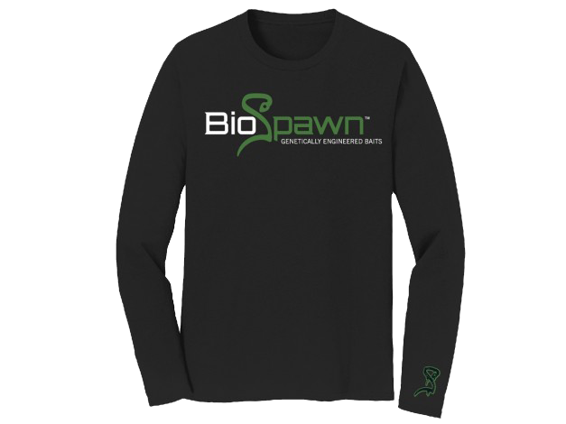 BIOSPAWN LONG SLEEVE SHIRT BLACK