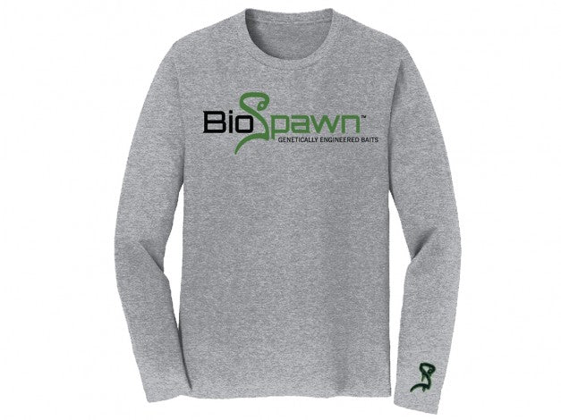 BIOSPAWN LONG SLEEVE SHIRT GREY