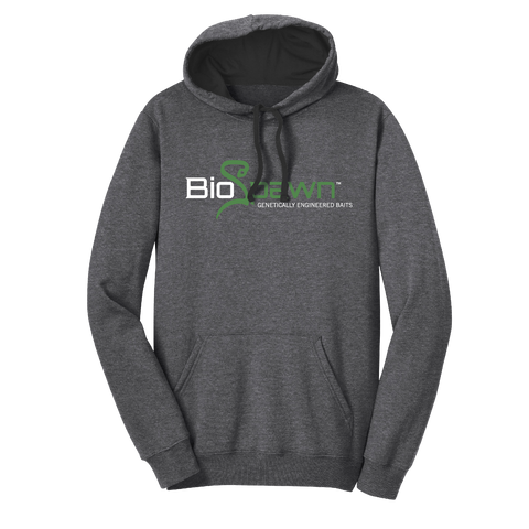 BIOSPAWN HOODIE HEATHER CHARCOAL