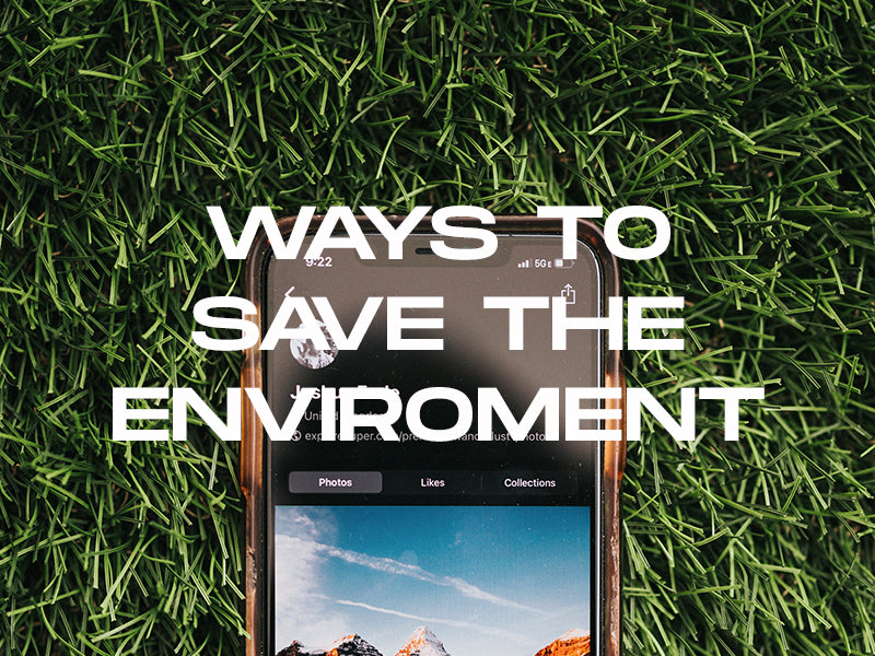 Surprising ways to save the environment