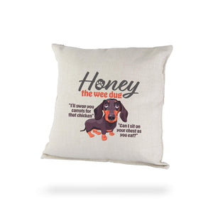 Cushion Honey Quote Janey Godley