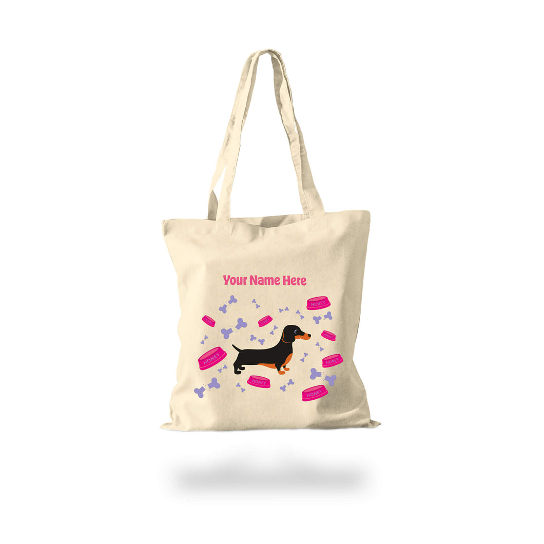 Cotton Shopper Personalised Chewed Bones Janey Godley