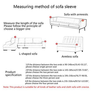 House of Quirk Universal Triple Seater Sofa Cover Big Elasticity Cover for Couch Flexible Stretch Sofa Slipcover
