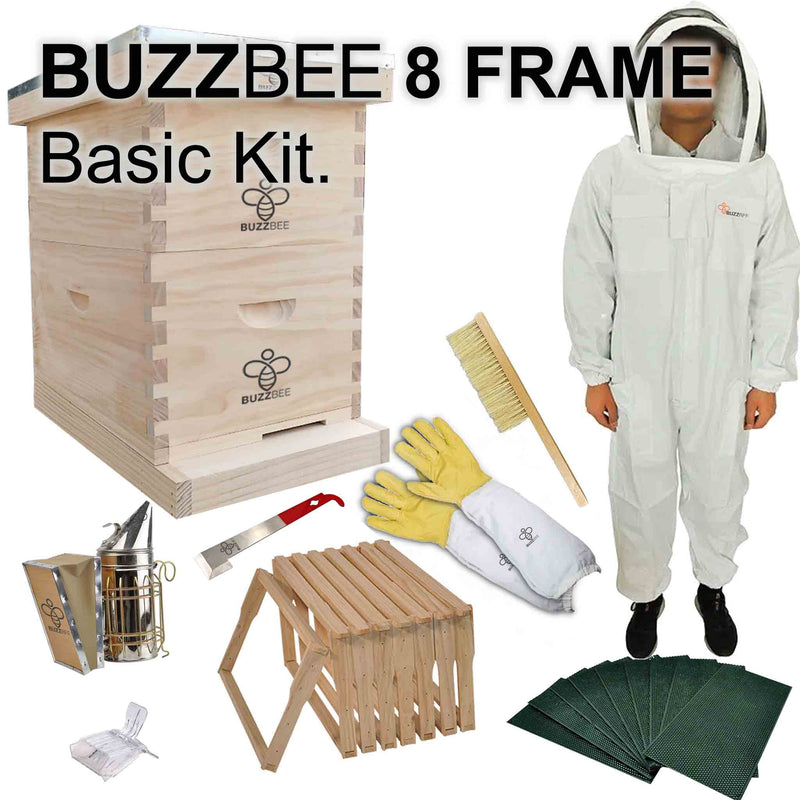 Basic Beekeeping Starter Kit Package