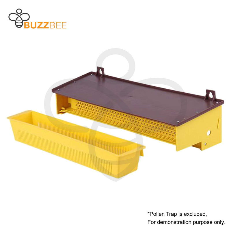 Removable Plastic Ventilated Bee Pollen Tray/Box/Collector for Pollen Trap for Beekeeping - Buzzbee