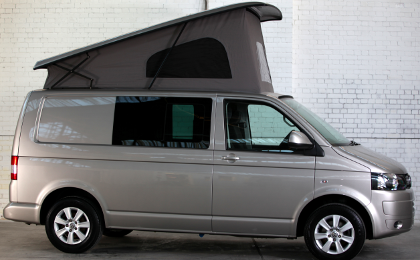 VW T5 Transporter Camper Conversion Pop Top