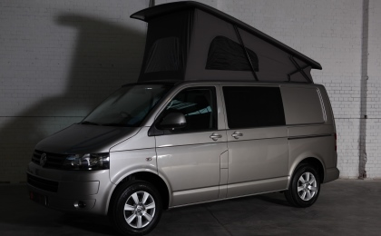 VW T5 camper pop top up