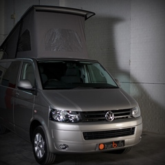 Champagne VW T5 Conversion With Pop top