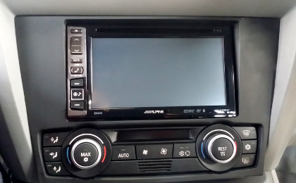 Alpine INE-W990BT Installed into E91 BMW 3 Series Touring