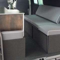 VW T5 custom bed conversion