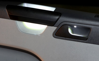 VW T5 handle lights