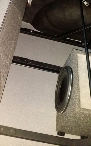 vw t5 day van subwoofer