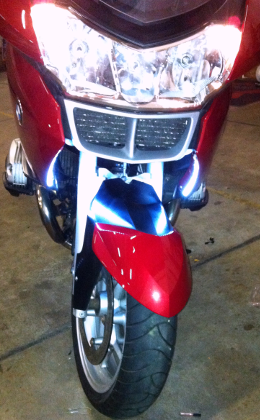 BMW R1200RT Front Running Lights