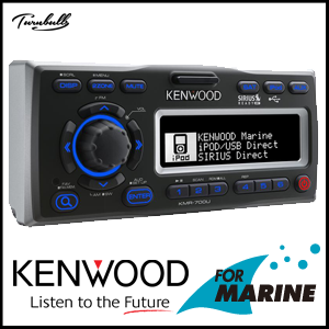 KMW-700U Marine Receiver With iPod Docking Station