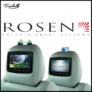 ROSEN AV7900 Series Quick-Change Multi-Media Headrest