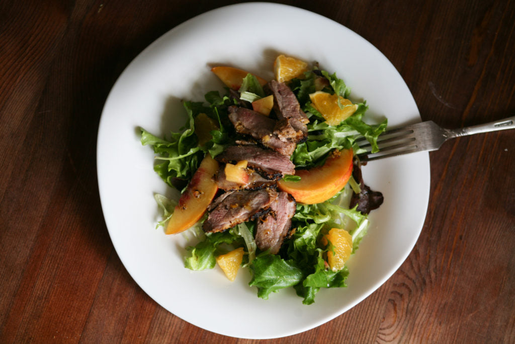 Honey Duck & Orange Salad
