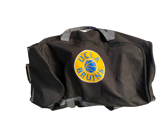 Armani Dodson UCLA Basketball Team-Issued Travel Duffel Bag With Player Tag