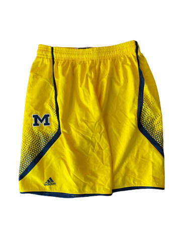 Derrick Walton Jr. Michigan Basketball 2014-2015 Game Worn Shorts